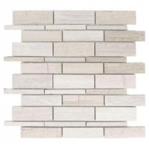 Tranquil Stone 10.75 in. x 12.875 in. x 9.5 mm Stone Mosaic Wall Tile