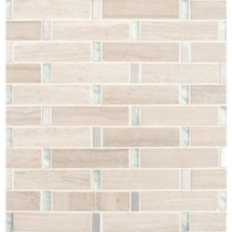 Stella 12 in. x 12 in. x 8 mm Glass Metal Stone Mesh-Mounted Mosaic Tile (10 sq. ft. / case)