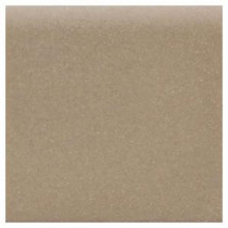 Matte Elemental Tan 4-1/4 in. x 4-1/4 in. Ceramic Bullnose Wall Tile