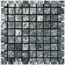 Ostrich Gray Pattern 12 in. x 12 in. x 5 mm Quatzite Mesh-Mounted Mosaic Tile (10 sq. ft. / case)