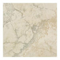 Canaletto Bianco 18 in. x 18 in. Glazed Porcelain Floor and Wall Tile (18 sq. ft. / case)