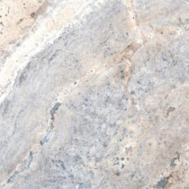 Silver 12 in. x 12 in. Honed Travertine Floor and Wall Tile (10 sq. ft. / case)