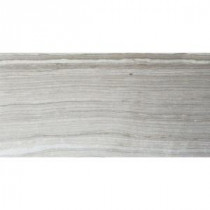 Cresta Silver 12 in. x 24 in. Glazed Porcelain Floor and Wall Tile (12 sq. ft. / case)
