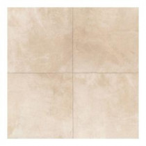 Concrete Connection Boulevard Beige 20 in. x 20 in. Porcelain Floor and Wall Tile (16.27 sq. ft. / case)