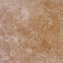 Travertino Walnut 18 in. x 18 in. Glazed Porcelain Floor and Wall Tile (15.75 sq. ft. / case)