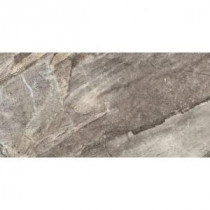 Everglade Silver 12 in. x 24 in. Porcelain Floor and Wall Tile (11.64 sq. ft. / case)