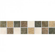 Mt. Everest L-1200 3 in. x 12 in. Glazed Porcelain Listello Floor and Wall Tile