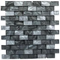 Upscale Designs 12 in. x 13 in. x 6 mm Glass Mesh-Mounted Mosaic Wall Tile