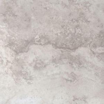 Piazza Ivory 12 in. x 12 in. Glazed Porcelain Floor and Wall Tile (15 sq. ft. / case)