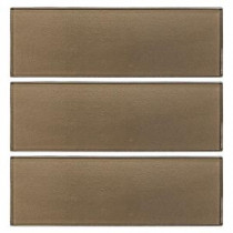 Aluminum 4 in. x 12 in. Glass Wall Tile (3-Pack)