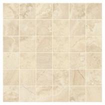 Developed by Nature Rapolano 12 in. x 12 in. x 6 mm Glazed Ceramic Random Mosaic Tile