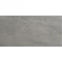 Avila 24 in. x 12 in. Gris Porcelain Floor and Wall Tile (14.25 sq. ft. / case)