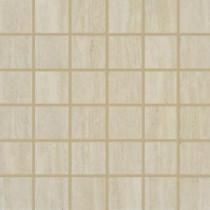 Travertino Romano 12 in. x 12 in. x 10 mm Porcelain Mesh-Mounted Mosaic Tile