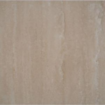 Roman Vein Cut 12 in. x 12 in. Polished Travertine Floor and Wall Tile (10 sq. ft. / case)