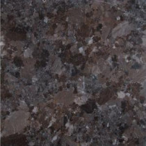 Brown Antique 12 in. x 12 in. Polished Granite Floor and Wall Tile (10 sq. ft. / case)