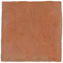 Hand Made Terra Cotta Cuadrado 12 in. x 12 in. Floor and Wall Tile (5 sq. ft. / case)