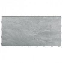 Oyster Grey 12 in. x 24 in. Porcelain Floor Tile (8 sq. ft. / case)