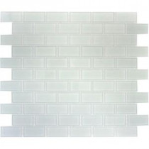 Arctic Ice 12 in. x 12 in. x 8 mm Glass Mesh-Mounted Mosaic Tile