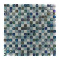 Capriccio Scafati 12 in. x 12 in. x 8 mm Glass Mosaic Floor and Wall Tile