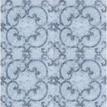 Marquess Carrera 12 in. x 12 in. x 10 mm Polished Marble Mosaic Tile