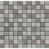 Majestic Ocean 12 in. x 12 in. x 4 mm Glass Mesh-Mounted Mosaic Tile