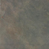 Continental Slate Brazilian Green 12 in. x 12 in. Porcelain Floor and Wall Tile (15 sq. ft. / case)