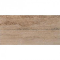 Machu Picchu Vein Cut 12 in. x 24 in. Honed Travertine Floor and Wall Tile (10 sq. ft. / case)