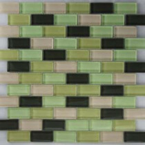 Riverz Nile Mosaic Glass 12 in. x 12 in.Mesh Mounted Tile (5 sq. ft. / case)