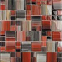 Contempo Abbott-1675 Mosaic Glass 12 in. x 12 in. Mesh Mounted Tile (5 sq. ft. / case)