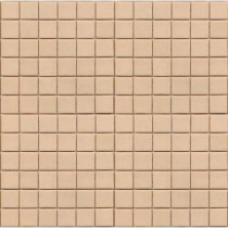 Coffeez Latte-1101 Mosaic Recycled Glass 12 in. x 12 in. Mesh Mounted Floor & Wall Tile (5 sq. ft. / case)