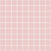 Easy Basics Pink 8 in. x 8 in. x 7 mm Ceramic Mesh-Mounted Mosaic Wall Tile (10.76 sq. ft. / case)