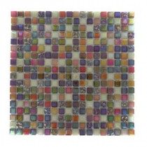 Capriccio Scandicci 12 in. x 12 in. x 8 mm Glass Floor and Wall Tile