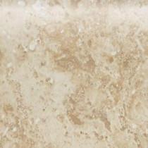 Heathland Raffia 4 in. x 4 in. Glazed Ceramic Bullnose Wall Tile