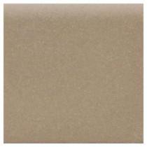Matte Elemental Tan 4-1/4 in. x 4-1/4 in. Ceramic Bullnose Wall Tile