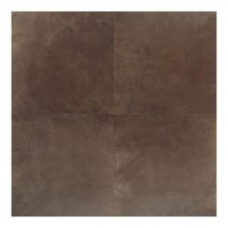 Concrete Connection Eastside Brown 20 in. x 20 in. Porcelain Floor and Wall Tile (16.27 q. ft. / case)