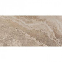 Riviera Cream 12 in. x 24 in. Porcelain Floor and Wall Tile (11.64 sq. ft. / case)