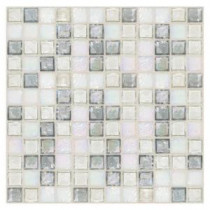 Egyptian Glass Moonstone Blend 12 in. x 12 in. x 6 mm Glass Face-Mounted Mosaic Wall Tile