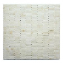 Post Modern Cassat 12 in. x 12 in. x 6.35 mm Marble Mesh-Mounted Mosaic Wall Tile (10 sq. ft. / case)