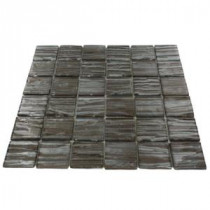 Gemini Redwood 11-3/4 in. x 11 in. x 6 mm Glass Mosaic Tile