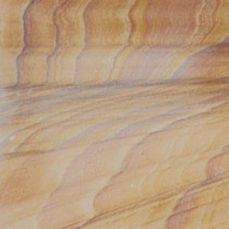 Rainbow Teakwood 16 in. x 16 in. Gauged Sandstone Floor and Wall Tile (8.9 sq. ft. / case)