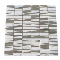 Great Charlemagne 12 in. x 12 in. Marble Floor and Wall Tile