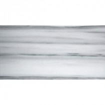 Metro White 4 in. x 10 in. Marble Floor and Wall Tile