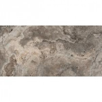 Riviera Gray 12 in. x 24 in. Porcelain Floor and Wall Tile (11.64 sq. ft. / case)