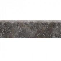 Heathland Ashland 3 in. x 12 in. Glazed Ceramic Bullnose Floor and Wall Tile