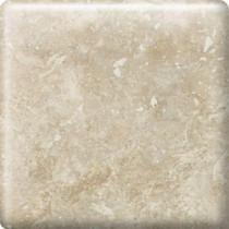 Heathland White Rock 2 in. x 2 in. Glazed Ceramic Bullnose Corner Wall Tile