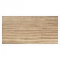 Silk Marrone 12 in. x 24 in. Porcelain Floor and Wall Tile (16.68 sq. ft. / case)
