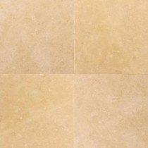 Jerusalem Antiqued Gold 16 in. x 16 in. Honed Natural Stone Floor and Wall Tile (10.68 sq. ft. / case)