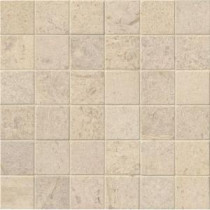 Coastal Sand 12 in. x 12 in. x 10 mm Honed Limestone Mesh-Mounted Mosaic Tile (10 sq. ft. / case)
