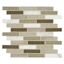 Crystal Cliff 12 in. x 12 in. x 8 mm Glass Stone Mesh-Mounted Mosaic Tile (10 sq. ft. / case)