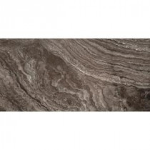 Pergamo Nero 12 in. x 24 in. Porcelain Floor and Wall Tile (11.64 sq. ft. / case)